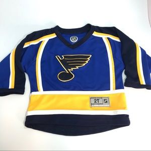 Toddler St. Louis Blues hockey jersey sz 2T